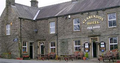 WHARFEDALE - Clarendon Hotel, Hebdon.