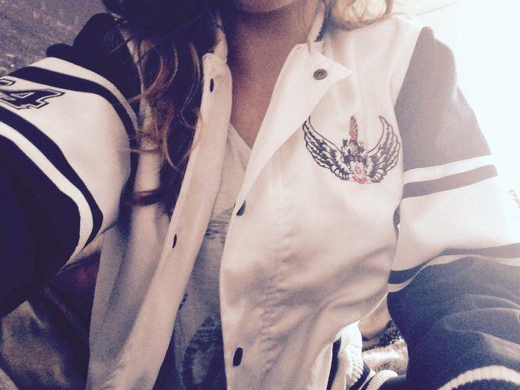 College Bomber Jacket. #college #jacket #toit #matricjacket