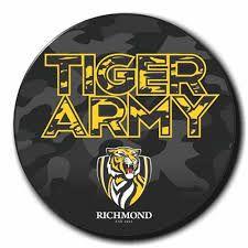 Richmond FC Tiger Army badge