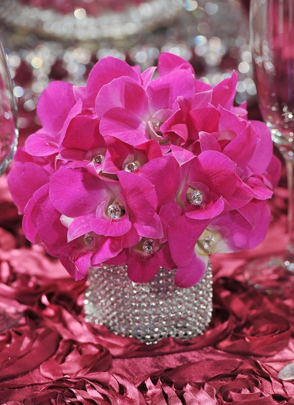 Pretty in Pink Floral Accents | Inspirations