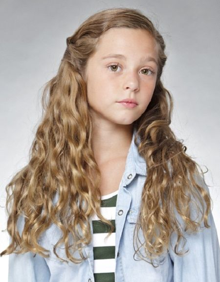 Virtual Hairstyles Kids Long Hairstyles: Kids Girl Hairstyles With Long Curly Hair
