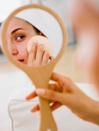 I swear by 2 egg yolks, and 2 tbs of olive oil for your face. Put your face over hot water, put the mask on wait 20 minutes, rinse then sit your face in a bowl of water, as cold as you can stand it so your pores close. My pores look like they disappeared!!