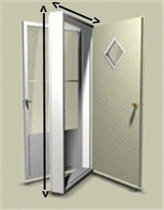38 Quot X 76 Quot Kinro Combination Exterior Door With 9 Lite