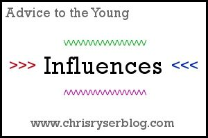 Blog post about the ways we can positively influence others and how others can positively influence us.
