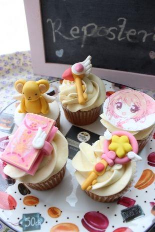 #Cupcakes Decorados con los personajes del anime de Sakura Card Captor, podemos hacerlos como mas te gusten. #SakuraCardCaptor #bogota