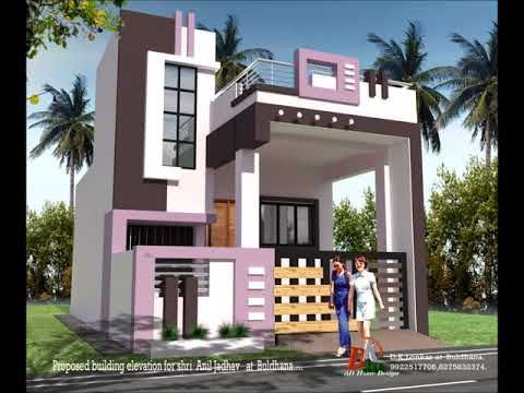 Front Elevation Designs For Duplex Houses In India Google Search House Elevation Front Elevation Designs Small House Elevation Design