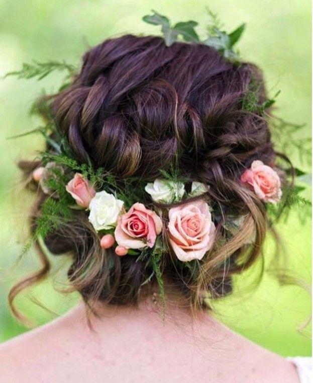 beautiful boho wedding hairstyles