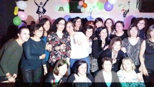 Grandes momentos con grandes amigas... guapas!!!: Fiesta 50 Aniversario Ana Carbonell, Ibi 10/1/2015, Pub Sónar  #fiestas #amigos #guapas