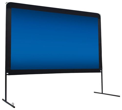 "Elite Screens - Yard Master 150"" Portable Projector Screen"