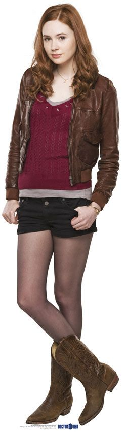 Doctor Who Amelia Amy Pond Karen Gillan Cboard Cutout | eBay