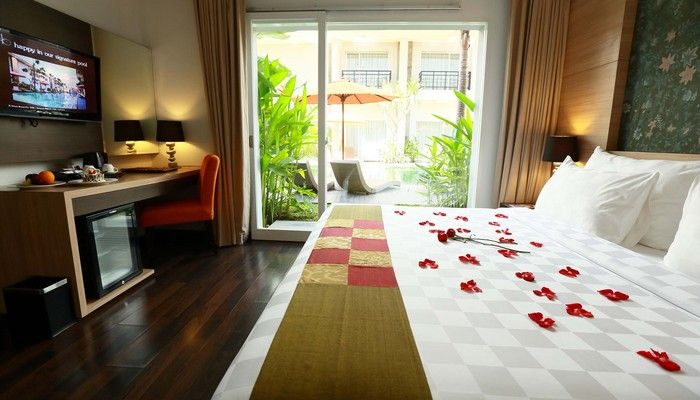 B Hotel Bali & Spa, located in kuta, great for your business and short escape, architectural concept is nature and modern minimalist, local attarction 20 Minutes drives from Ngurah Rai International Airport Bali. 15 Minutes to Famous Kuta beach, 10 Minutes to Legian and Seminyak areas. 25 Minutes drive east to Denpasar city, 35 Minutes to Nusa Dua. 45 Minutes to central arts of Ubud and only an Hour drive north to the Beauty of Kintamany volcano. http://www.zocko.com/z/JIQnw