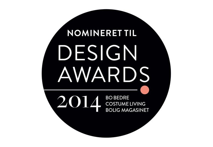 Makers With Agendas nominated for the 2014 Design Awards by BoBedre, Costume Living & Bolig Magasinet.
