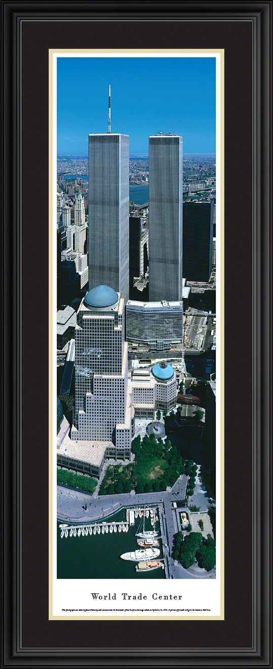 This World Trade Center Panoramic Picture  was taken by Blakeway Worldwide Panoramas and is available in many different formats!