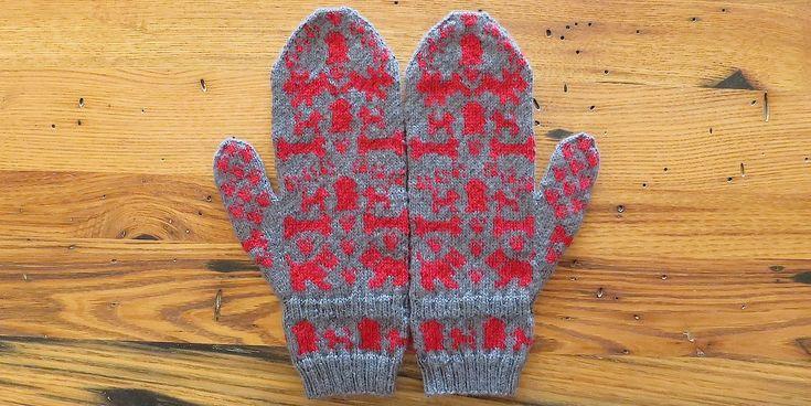 dog days mittens free patterns KEEP CALM AND KNIT KNIT KNIT Pinterest F...