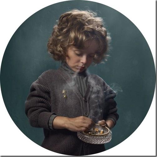 Smoking Kids:Heart Breaking Photographs by Frieke Janssens