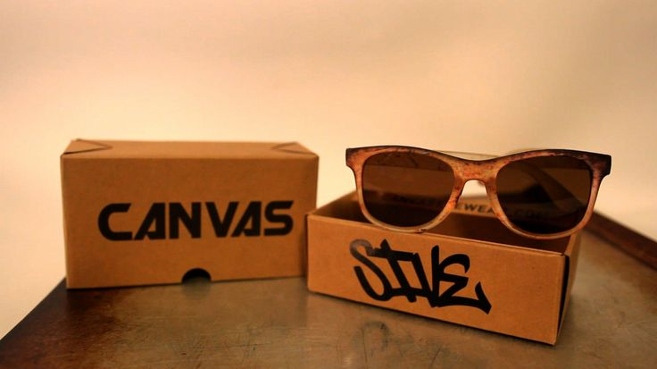 """Our favorite comment so far about the #Lava #custom #sunglasses from the #CanvasEyewear X #SIVE #collaboration:  """"Those are pretty fresh SIVE! I was planning to do a pair with my character."""" - Foms Oner on YouTube  Make it happen, Foms. And we want to see your pair with your character when you're done!"""