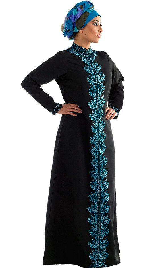 Tazkia Jilbab/ Abaya Long Coat Modern Islamic Clothing