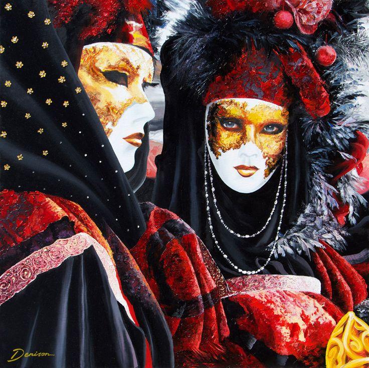 'Carnival Mystique' By Graham Denison. Original SOLD