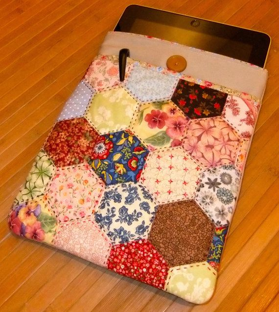 iPad cover PATCHWORK by AnnaCamolese on Etsy, $45.00