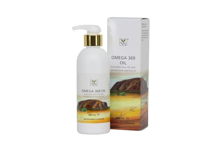 NEW Ultra Pure Australian Emu Oil Infused with Sandalwood essential oil, 200ml