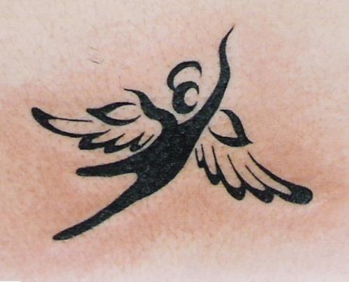 Tribal Angel Tattoos | Tattoos.so » Tribal Winged Angel Tattoo