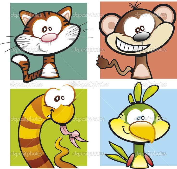animales domesticos animados - Buscar con Google