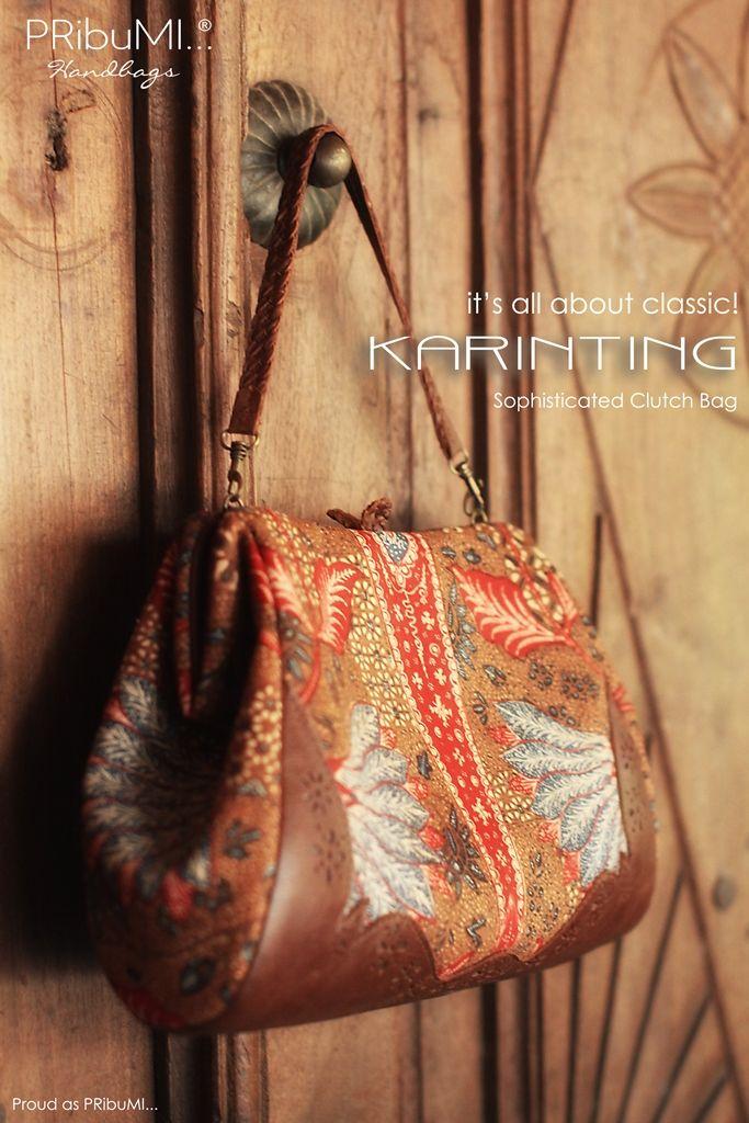 KARINTING Clutch Bag by PRibuMI...®