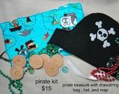 Pirate Dress Up Treasure Map. $6.00, via Etsy.