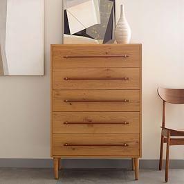 Benson 5-Drawer Dresser - Natural Oak