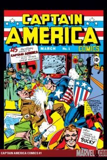 Comic book authors realized that the support of children in the war effort was just as important as the support of their parents.  Captain America debuted in March, 1941 and was a direct product of World War II.  He helped to show kids how strong and cunning their country was in defeating their enemies overseas.  It just doesn't get more American than Captain America punching Hitler in the face. Source: Marvel
