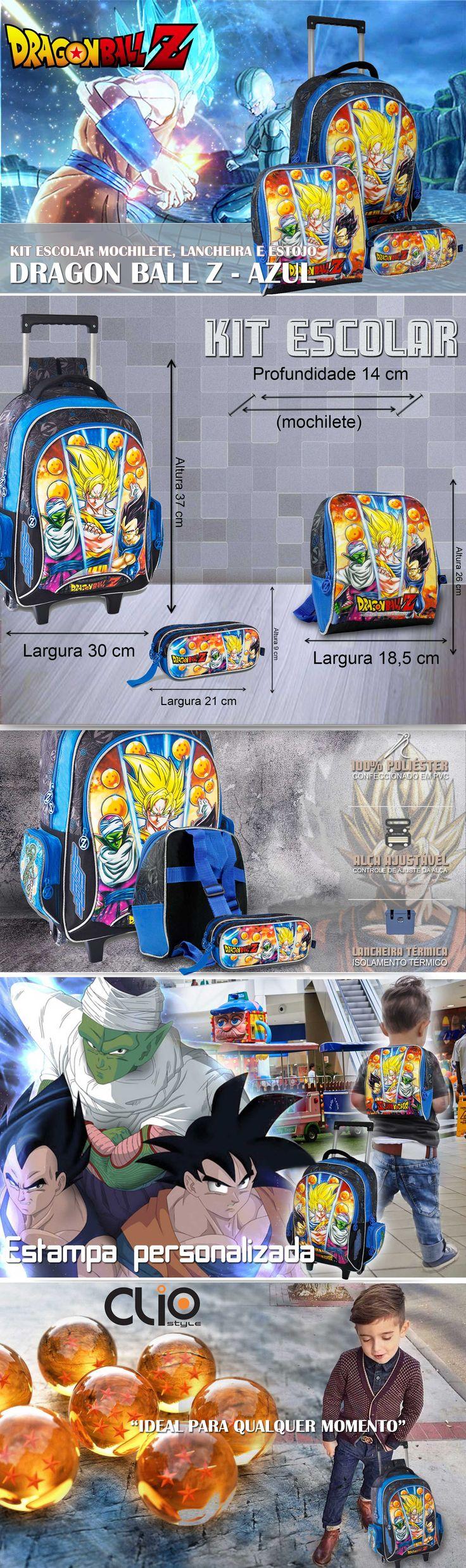 Mochilas escolares Dragon Ball . A maior variedade de bolsas, malas e mochilas da internet em um só lugar. Pensou em bolsa, pensou EllaStore. A sua loja de bolsas da internet