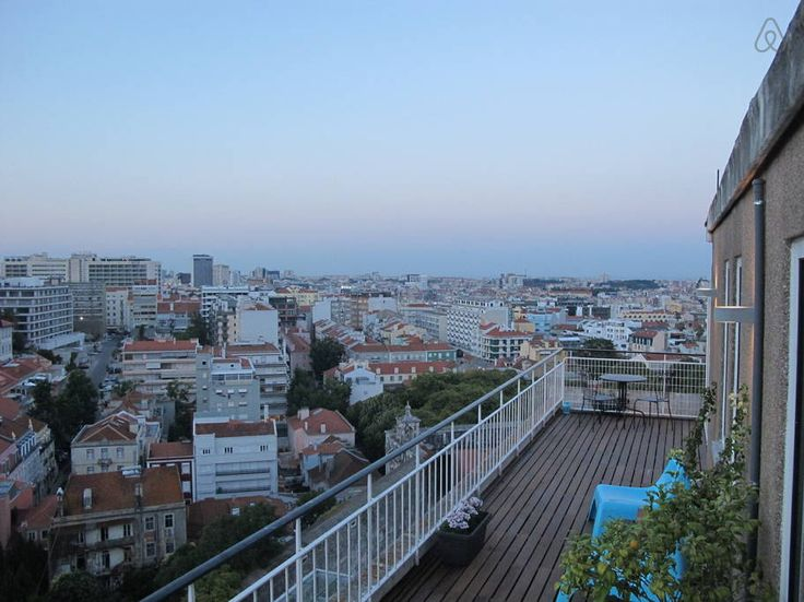 Check out this awesome listing on Airbnb: The best city view in a rooftop - Apartments for Rent in Lisbon