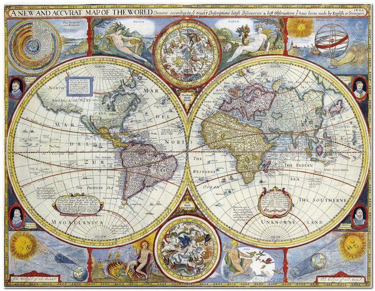 Фото старинные карты