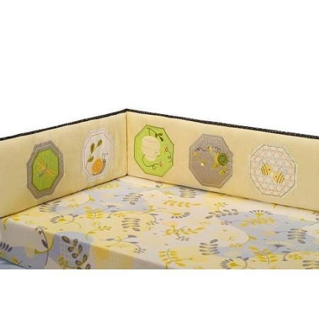 Carter's Bumble Collection Crib Bumper. Purchased from babies r us