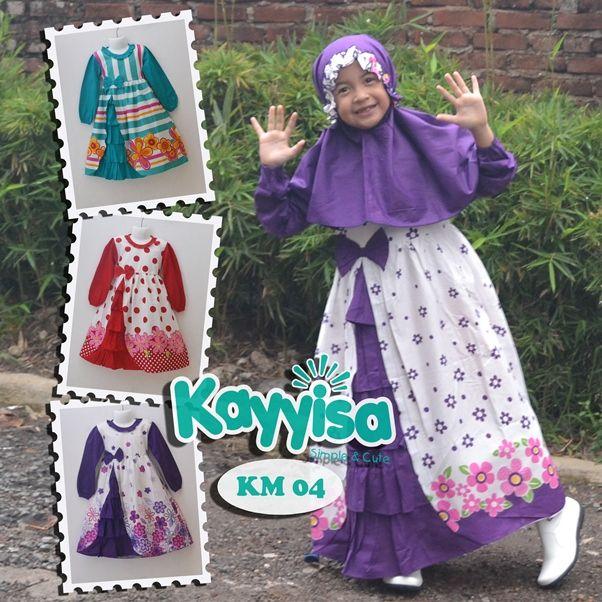 Kayyisa Gamis Anak Anak, Info Agen / Reseller hub Telp / WA  08119702044