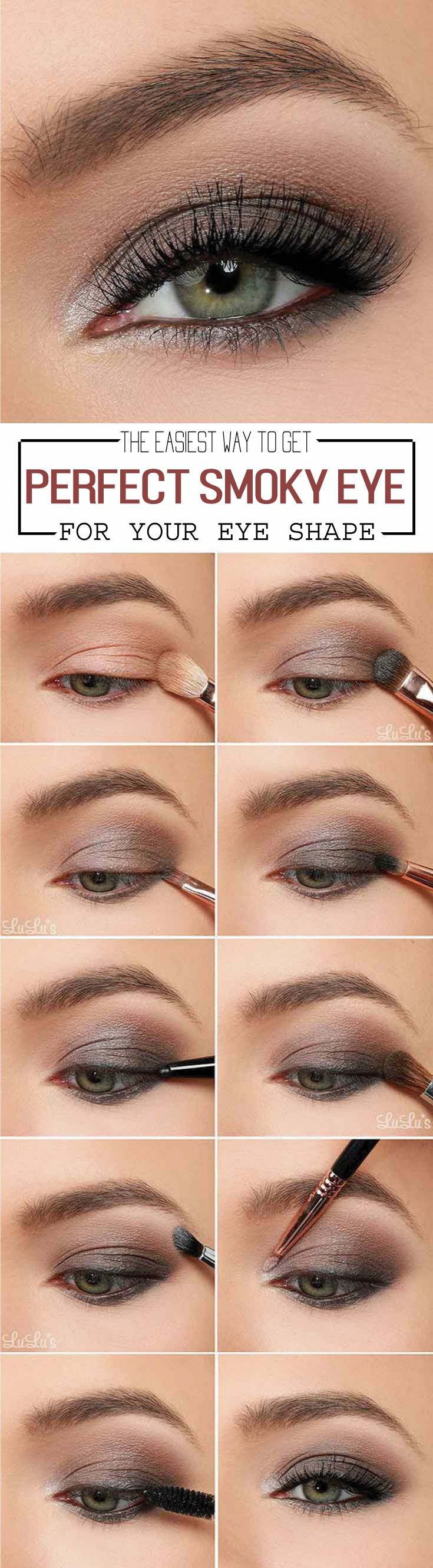 Smokey eyes sometimes look easily brushed on but they are not always the  simplest looks to execute. How high are you supposed to blend the shadow? How  many shades should you use to get a notice-me dimension? What colors will  perfectly accentuate in your eyes? There are some tricks from makeup artist,  click to find out more.