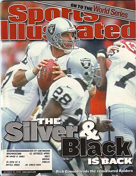 Rich Gannon - (Sports Illustrated - October 23, 2000)