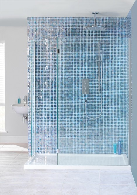 DESIGN VIEW Double Sided Walk In Enclosure in Design View   Simpsons - Shower Enclosure Products