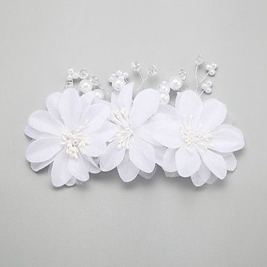 Women's / Flower Girl's Pearl / Alloy / Imitation Pearl Headpiece-Wedding / Special Occasion Hair Combs / Hair Clip 1 Piece 4214915 2016 – $8.99