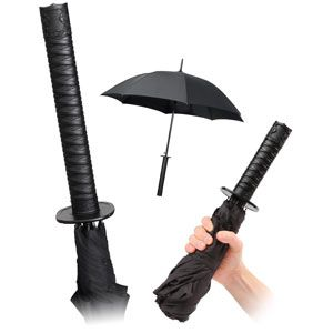 Perfect for Vancouver weather, how badass would it be to have a sword-brella?
