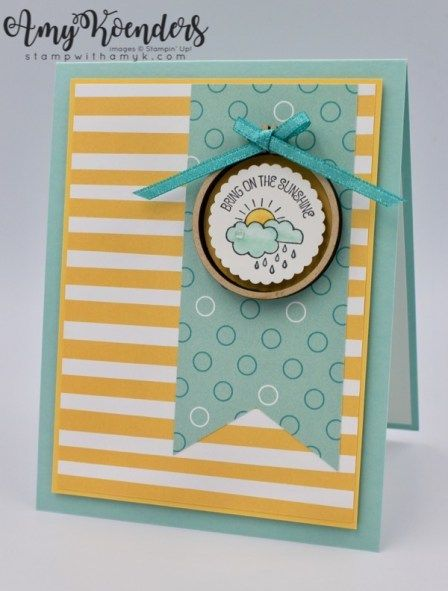 Stampin' Up! A Good Day For Fab Friday – Stamp With Amy K