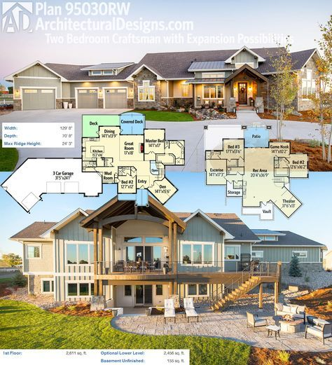 181 best future images on pinterest architecture for House plans with future expansion