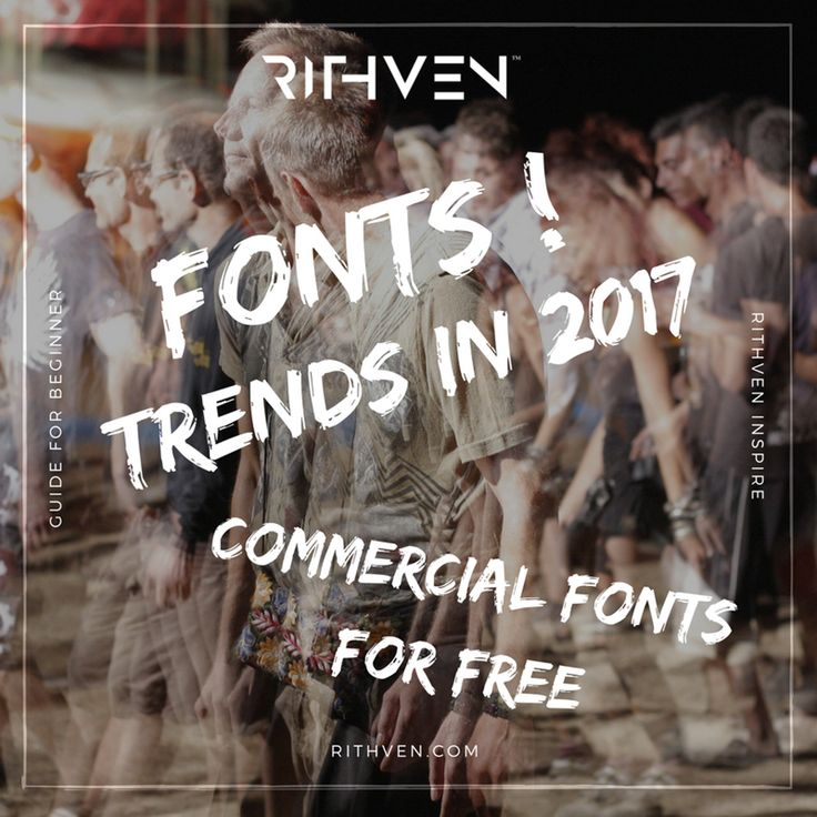 Free Commercial Fonts - Best free fonts 2017