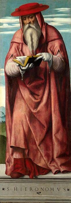 Saint Jerome  Moretto da Brescia