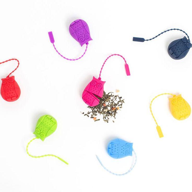 Infuseurs Hiboux de toutes les couleurs! #teataxi #hibou #owl #teaaddict #tealover #tea #teagift #cooconing #bienetre #thé #teatime #metime #lovetea #teainfuser