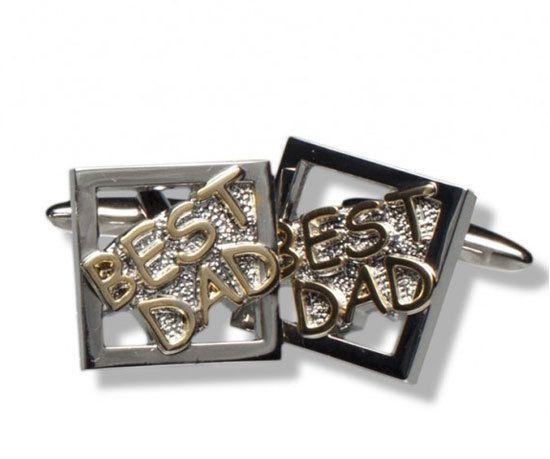 Dad Cufflinks - Fathers Day gifts for dads that are the best!
