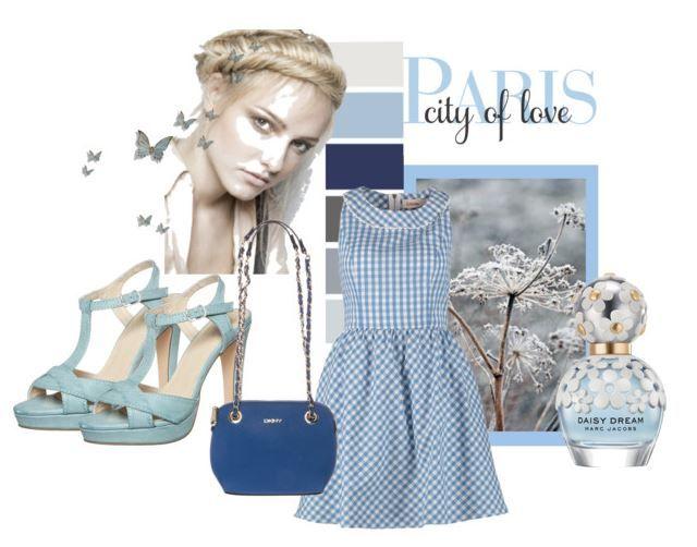 Akwamaryna to modny w sezonie wiosna 2015 odcień niebieskiego. Stylizacja na ciepłe wiosenne dni.