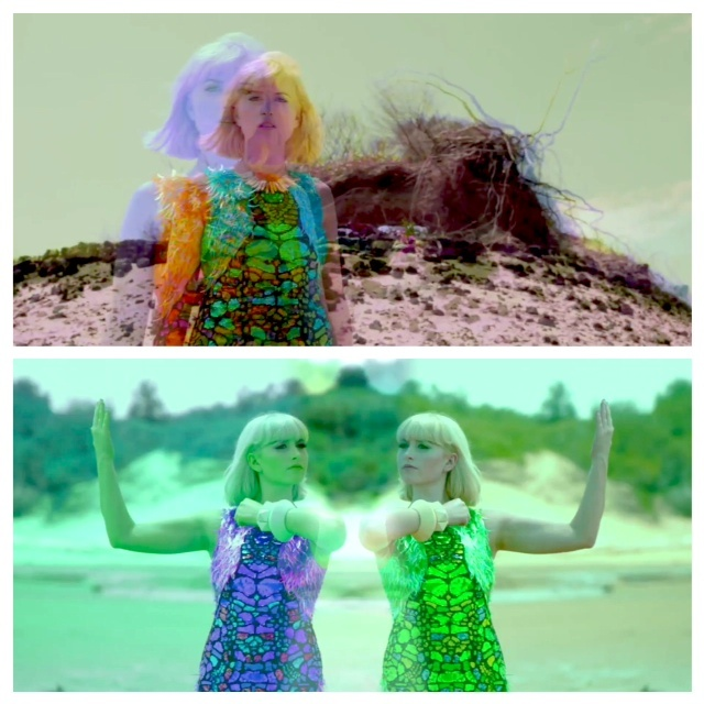 Phebe Starr.. stills from her latest clip for 'Jurassica'  Creative Direction by Matt Sharp