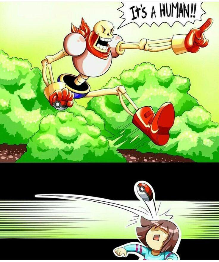 Pokemon go undertale