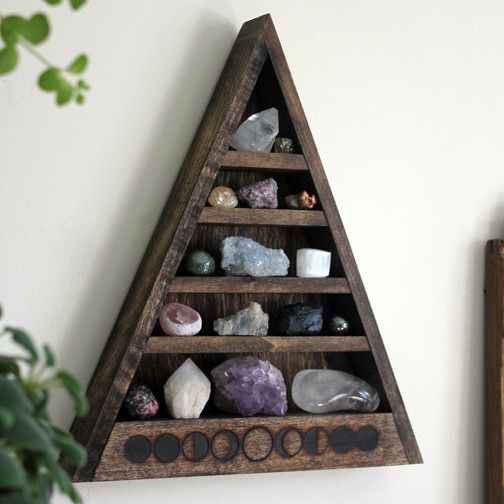 I want this more than anything! 5 Tier - Empty Moon Phase Shelf | Stone & Violet
